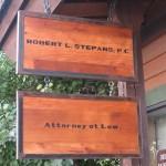 Stepans Sign